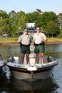 Law enforcement lake wylie marine commission for Lake gaston fishing report