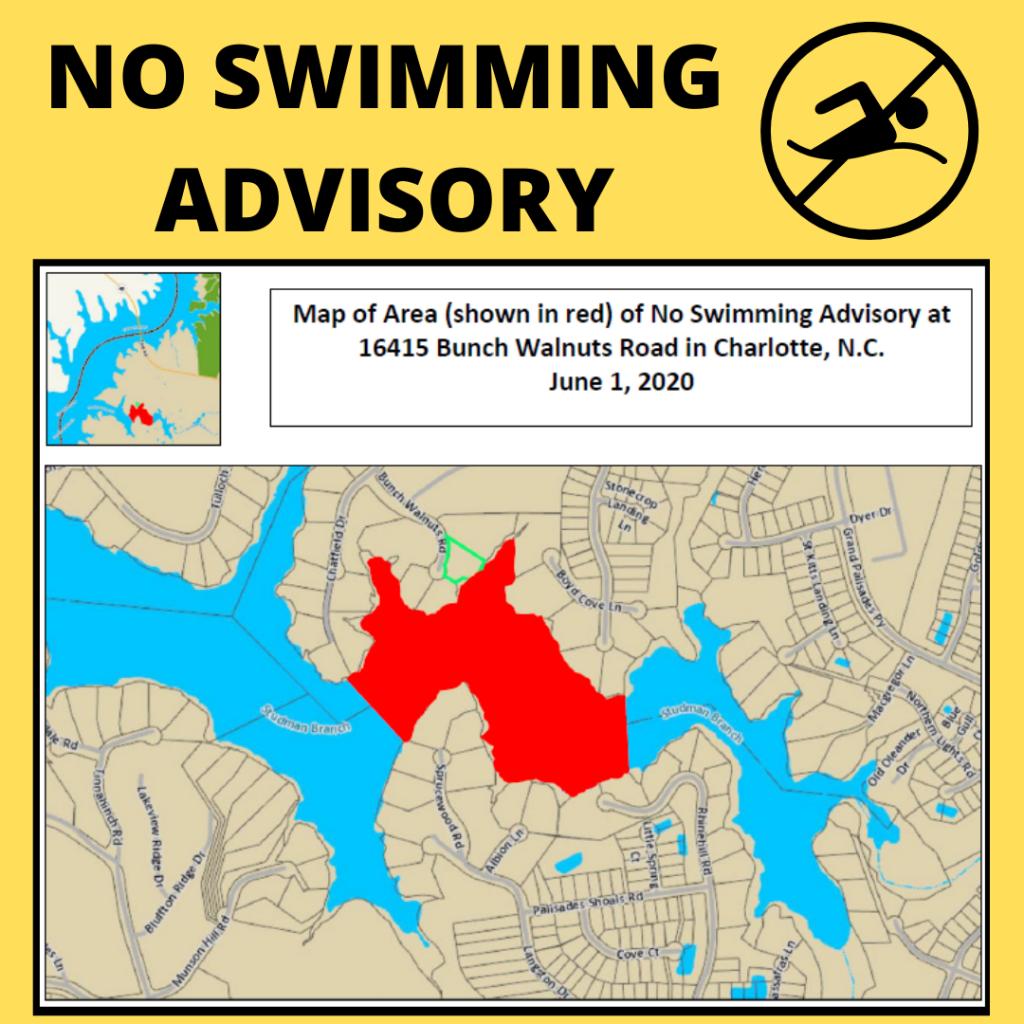 NO SWIM Advisory for Boyd's Cove